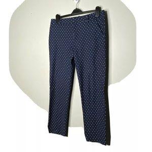 4/$35 Tommy Hilfiger Capri Ankle Pants Polka Dots